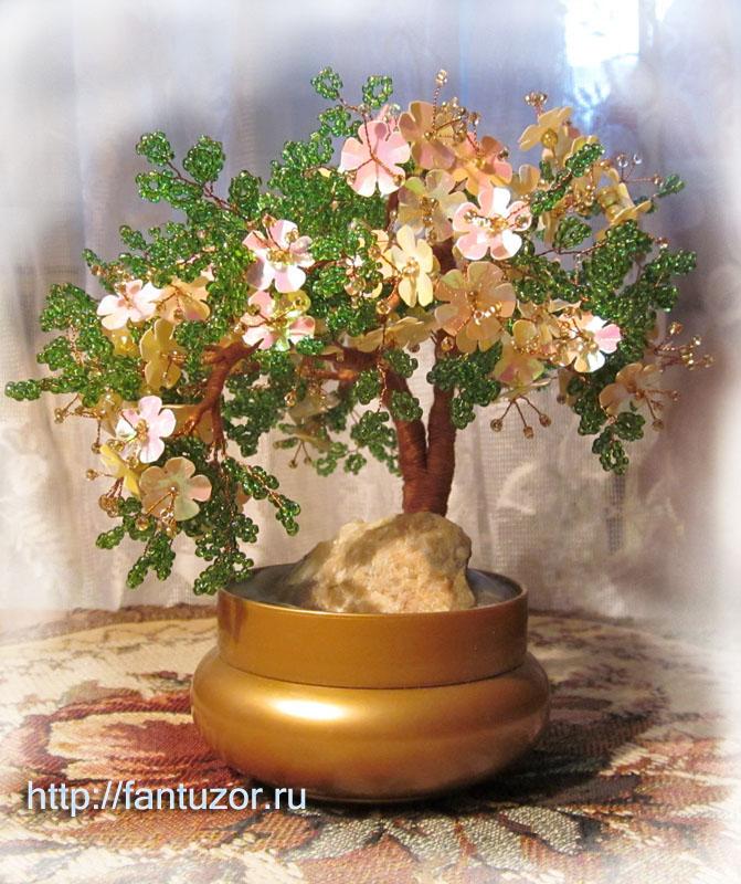 Цветы из бисера мк плетение из бисера