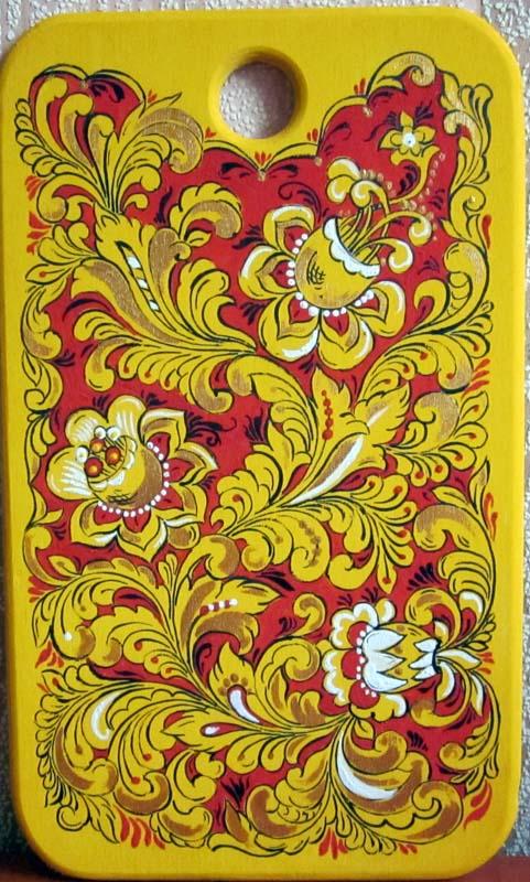 Шаблоны роспись на доске